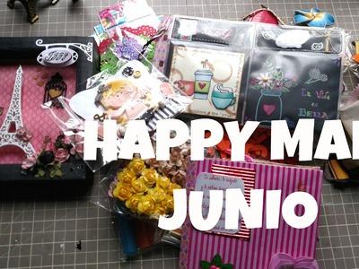 Happy Mail Junio .  Llego el correo !!!! * Creaciones Izzy
