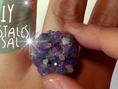Manualidad DIY: Como hacer CRISTALES de SAL para joyas * by ART Tv