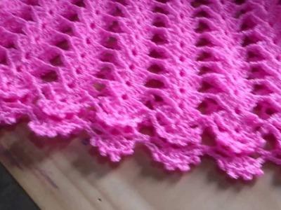 Vestidito para niña tejido a crochet