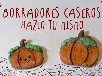 Como hacer BORRADORES CASEROS de Halloween by ART Tv * Hazlo Tu Mismo