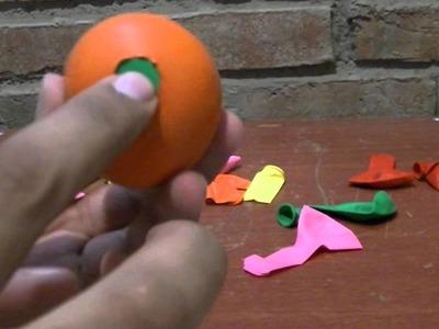 Como hacer un juguete (pelota) para el perro o cualquier mascota