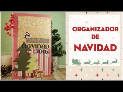 DIY Organizador de Navidad.Diario de Navidad. Décimo de Navidad EP. 1