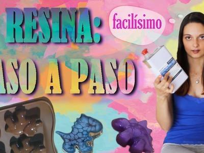 RESINA PASO A PASO - TUTORIAL NIVEL BÁSICO