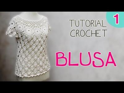 Tutorial blusa en crochet (1.2)