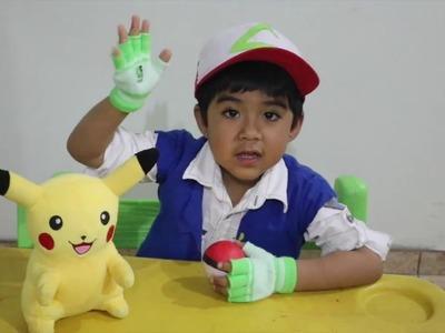 DIY - Como hacer Vestimenta completa de Ash Ketchum de Pokemon Go ||mcqueenthiago
