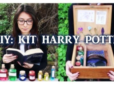 DIY: HARRY POTTER - KIT DE POCIONES, PLANTAS, LIBRO + CARTA ACEPTACIÓN HOGWARTS || Bella Brocks ||