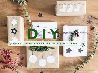 Navidad creativa: envoltorios modernos para regalos | DIY Westwing