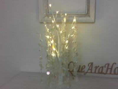 Arbol de Navidad con luces como decorarlo DIY