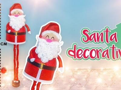 DIY: SANTA navideño DECORATIVO - ESPECIAL DE NAVIDAD