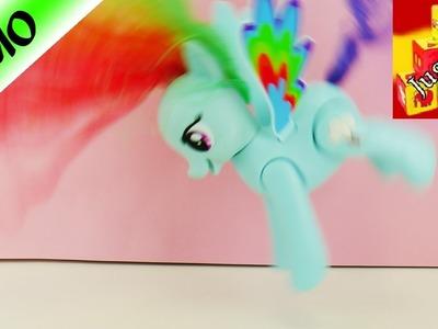 UNBOXING | My Little Pony, de Hasbro | Rainbow Dash | Hace volteretas en el aire