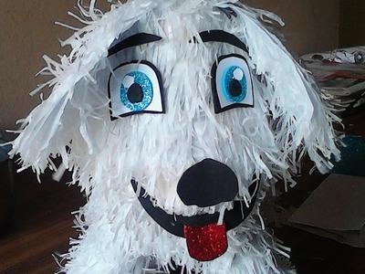 Como hacer un perrito como piñata