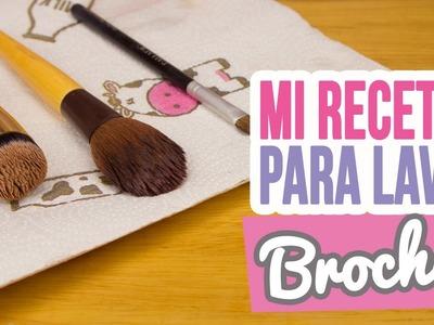 ¿Cómo limpio mis Brochas de Maquillaje? | Mi Receta Secreta | Mini Tip# 94 | Catwalk ♥