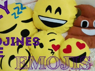 Cojines de Emojis SIN coser!