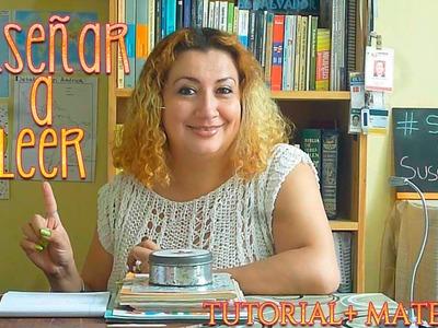 CÓMO ENSEÑAR A LEER EN CASA | How to teach reading.