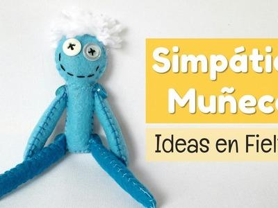Cómo hacer un lindo muñeco de fieltro   facilisimo.com