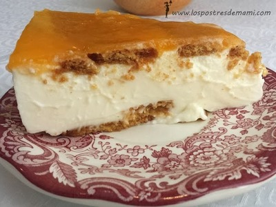 Tarta queso Philadelphia y nata con Thermomix | Recetas fáciles de Los Postres de Mami