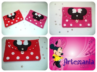❤Bolsa(cosmetiquera) de Minnie Mouse ❤
