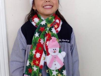 Como Hacer una Bufanda Fácil En Tela Polar