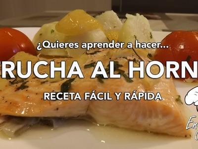 Trucha al Horno con Manzana | San Valentín | Receta Fácil y Rápida