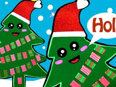 DIY adornos de Navidad: árbol de Navidad Kawaii