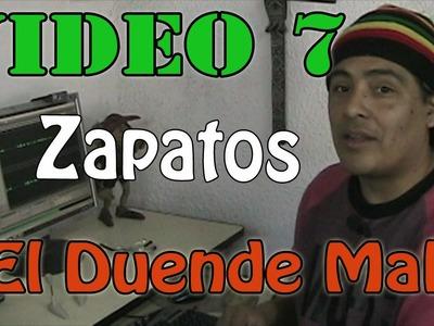 """""""Duende Malo"""" Como hacer zapatos de duendes Video #7"""