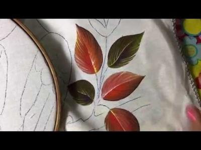 Pintura en tela tucán # 1 con cony