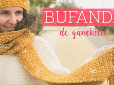 Bufanda de ganchillo fácil | Easy crochet scarf