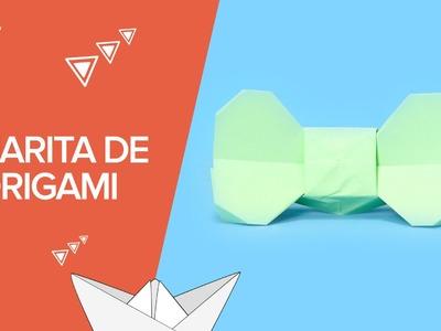 Cómo hacer una pajarita de origami paso a paso | Papiroflexia infantil