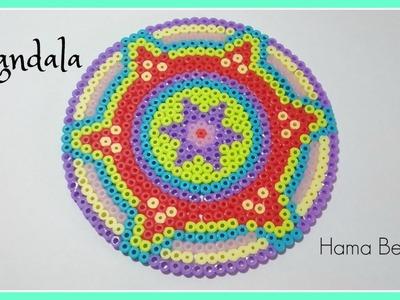 ☆  MANDALA  de  Hama Beads  (Perler Beads) . Zentangle Art ☆☆