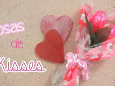 DIY: Rosas de Hershey Kisses :D FACIL! ♥