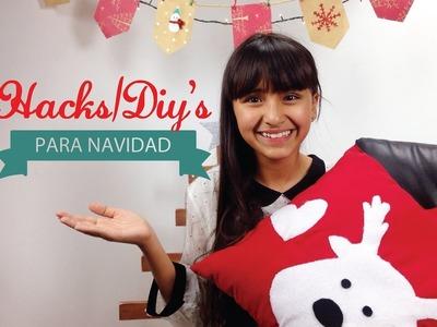 LIFE HACKS.DIY´S PARA NAVIDAD! #NavidadconSophie
