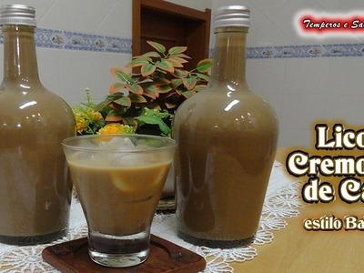 LICOR CREMOSO DE CAFÉ estilo Baileys - en Castellano