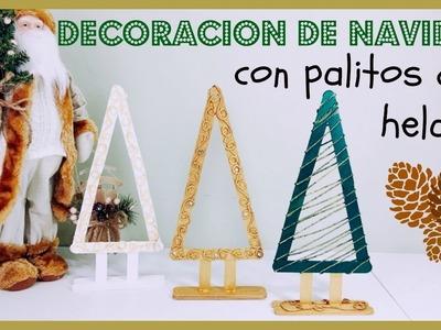MANUALIDADES PARA NAVIDAD CON PALITOS DE HELADO#1{As+LesTv}