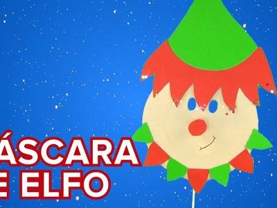 Máscara de elfo de Papá Noel | Manualidades de Navidad