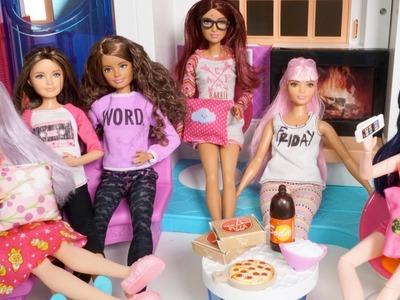 Pijamada de Skipper en Casa Barbie Hello DreamHouse - con Marinette Alya y Barbie Fashionistas