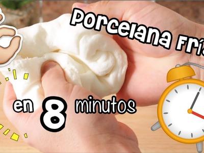 PORCELANA FRíA en 8 Minutos | Pasta Flexible