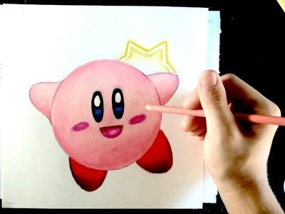 DIBUFÁCIL   Aprende a dibujar a Kirby (PRINCIPIANT