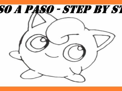 Como dibujar a Jigglypuff Pokémon l How to draw Jigglypuff Pokemon