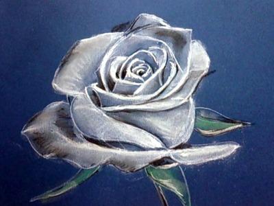Cómo Dibujar una Rosa al Pastel: Técnica de Dibujo al Pastel