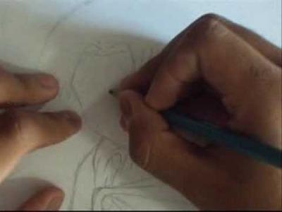 Como dibujar a Levi Rivaille de  Shingeki no Kyojin