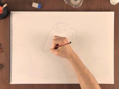 Cómo dibujar ropa de invierno : Aprende a dibujar como un profesional