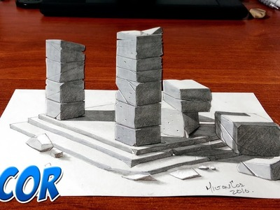 Dibujando un Altar de Roca en 3D