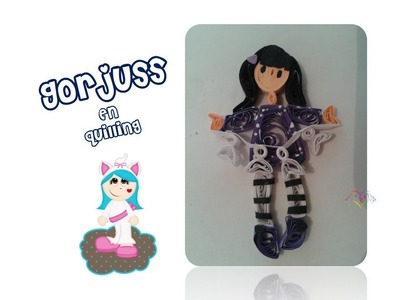 DIY Gorjuss en filigrana. quillling
