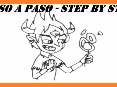 Como dibujar a Tom Star vs the Forces of Evil l How to draw Tom Star vs the Forces of Evil