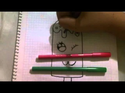 Como hacer dibujos kawaii :)