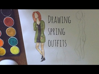 ♡ Drawing Outfits: Spring Edition! ♡