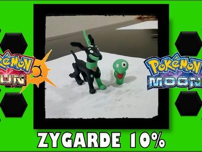Cómo hacer a Zygarde 10% - Tutorial Plastilina | Clay - Pokémon