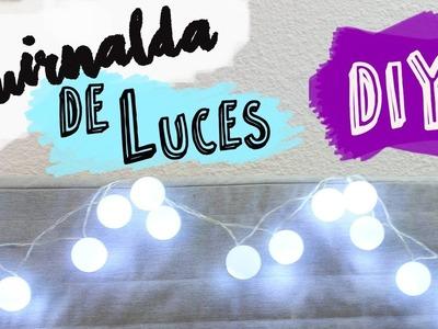 Cómo Hacer una Guirnalda de Luces Fácil | Guirnalda Luces Led DIY
