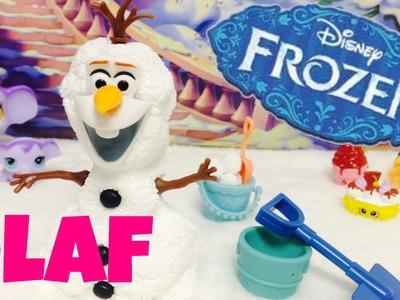 Disney FROZEN,juguetes en español,como hacer OLAF