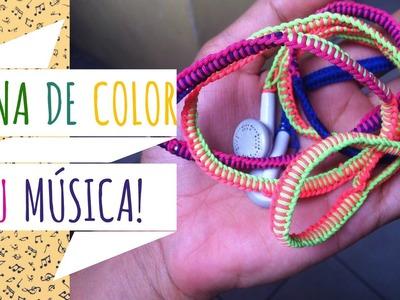Refuerza y decora tus Audífonos | #LunaDIY |Luna Ruiz